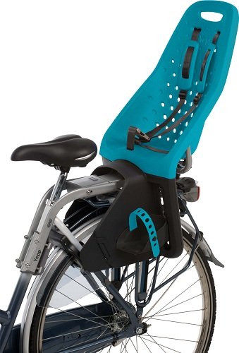GMG Yepp Maxi Fahrradsitz Hinten Ozeanblau Montagebügel