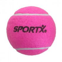 Sportx Jumbo Tennisball L - Rosa