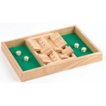 Longfield Shut the box Doppel 34 X 24 X 4 cm
