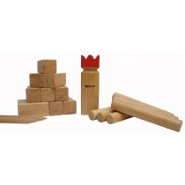 Kubb Pro Original Red King Gummi Holz Colourbox