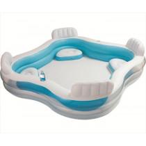 Intex Aufblasbarer Pool mit Stuhl