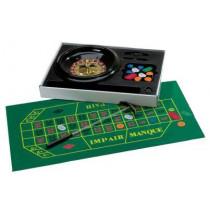 Luxe Roulette Set Complete mit Chips, Tuch und Rechen - 30 cm