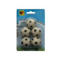 Foosball Kugeln S / W - 5 Stück