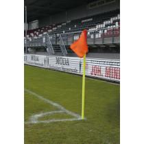UEFA Eckfahne Stick-Gelb 30