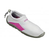 Beco Surf - Schwimmschuh Neopren - Grau / Pink