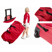 Big Red Wheeled Duffle