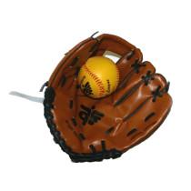 Baseballhandschuh Brown + Ball