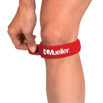 Mueller Jumpers Knee OSFM mit Straps - Red